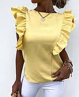 Женская стильная блузка с рюшами, фото 1