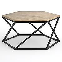 Подстолье для журнального стола из металла Ø=1000mm, H=440mm