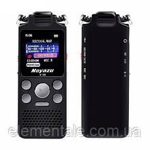Диктофон для записи разговоров цифровой Noyazu V59 8 ГБ памяти