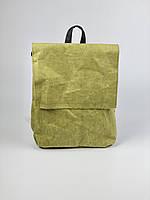 Рюкзак прямокутний чоловічий паперовий хакі KL1x31