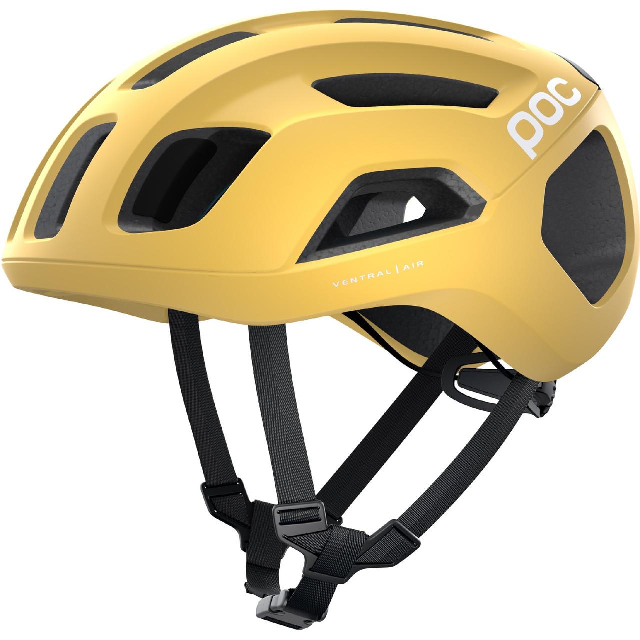 Шлем велосипедный POC Ventral Air Spin M 54-60 Sulfur Yellow Matt