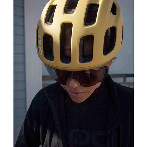 Шлем велосипедный POC Ventral Air Spin M 54-60 Sulfur Yellow Matt, фото 2