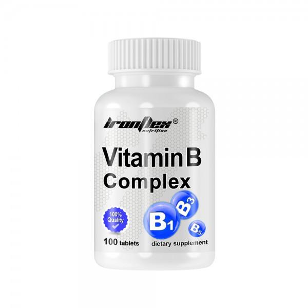 Витамины и минералы IronFlex Vitamin B Complex, 100 таблеток