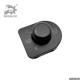 Регулятор дзеркал джойстик Volkswagen Golf 4 1J1959565F 1J1959565F01C складное