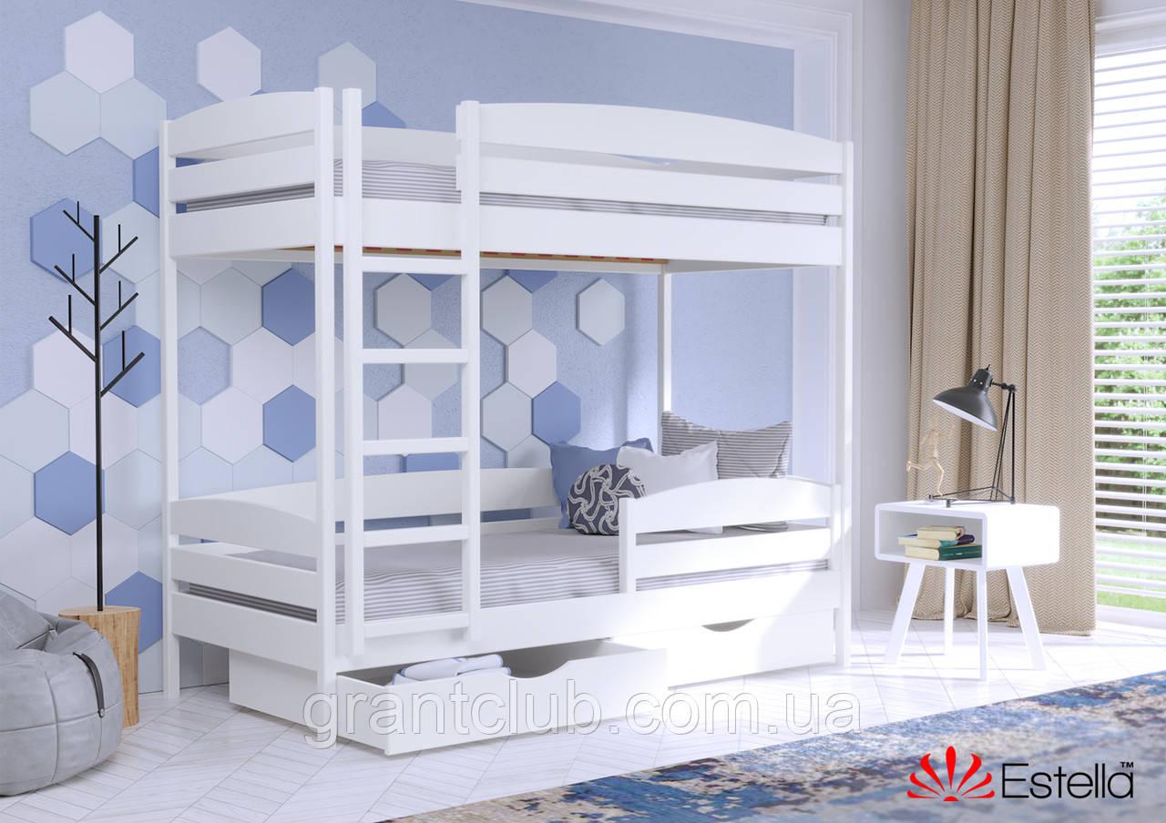 Двоярусне ліжко Дует Плюс 90х200 107 Щит 2Л4