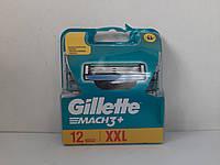 Кассеты мужские для бритья Gillette Mach 3 12 шт