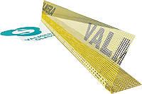 Профиль ПВХ угловой с сеткой Valmiera 10 х 15 см (Европа), фото 1