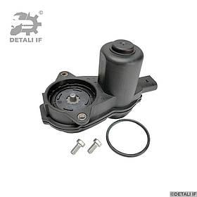 A8 Моторчик стоянкового гальма Audi 4H0998281