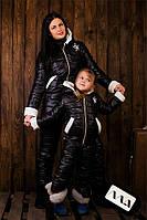 """Детский дутый теплый костюм """" Kids Стёганая плащевка """" Dress Code, фото 1"""
