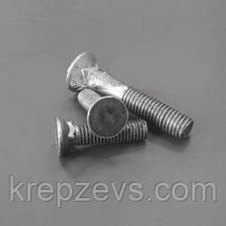 Болт М10 лемешный, ГОСТ 7786-81, DIN 608 | Фотографии принадлежат предприятию ЗЕВС®