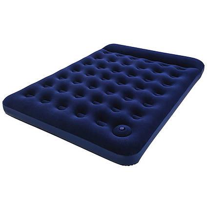 Надувний матрац Pavillo Bestway 67226, 152 х 203 х 22 см, з ножним насосом. Двомісний