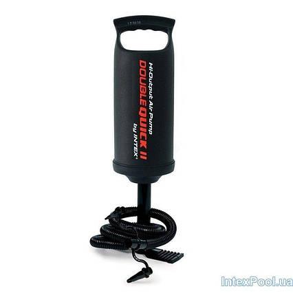 Ручний насос для надування Intex 68614 (об'єм 1.7 л)