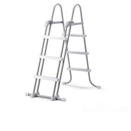 Сходи для басейну Intex 28075 (58972) (107 см), зі знімними ступенями