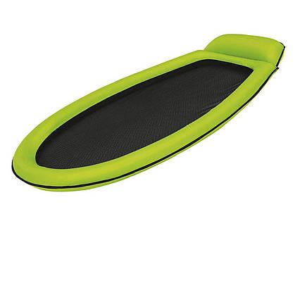 Надувной пляжный гамак Intex 58836, зеленый, 178 х 94 см