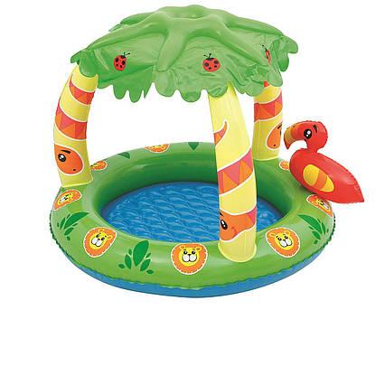 Дитячий надувний басейн Bestway 52179 «Джунглі», 99 х 91 х 71 см