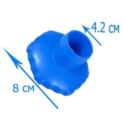Перехідник адаптер Intex 11238 для скімера 28000, 18946, 58947 (82 мм/ 40 мм). Сумісний з 11070