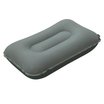 Надувна тканинна подушка Bestway 69034, зелена, 42 х 26 х 10 см