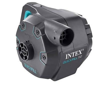 Електричний насос для надування Intex 66644 від мережі (220-240 V, 1100 л/хв)