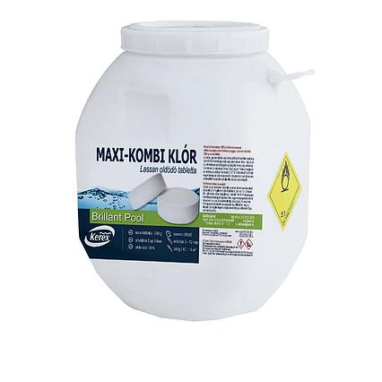 Таблетки для басейну MAX «Комбі хлор 3 в 1» Kerex 80005, 50 кг (Угорщина)