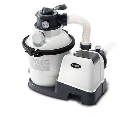 Пісочний фільтр насос Intex 26644, 4 500 л\год, 12 кг