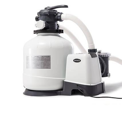 Пісочний фільтр насос Intex 26652, 12 000 л\год, 55 кг