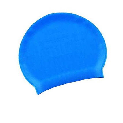 Шапочка для плавання Bestway 26006, універсальна, обхват голови ≈ 56 см, (19 х 22 см), блакитна