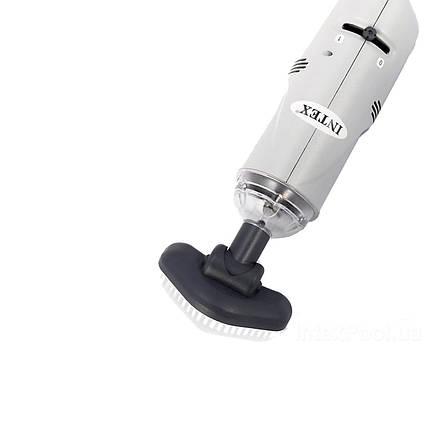 Ручний переносний водний пилосос з вбудованим акумулятором Ni-MH Intex 28620 для очищення дна басейну