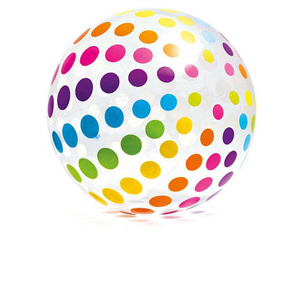 Intex надувний м'яч 59065 «Джамбо», 107 см