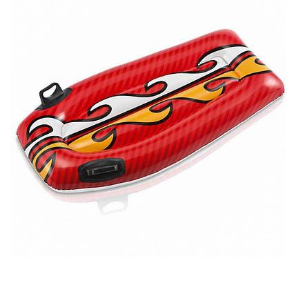 Дитяча дошка для катання Intex 58165 «Серфінг», 112 х 62 см, червоний