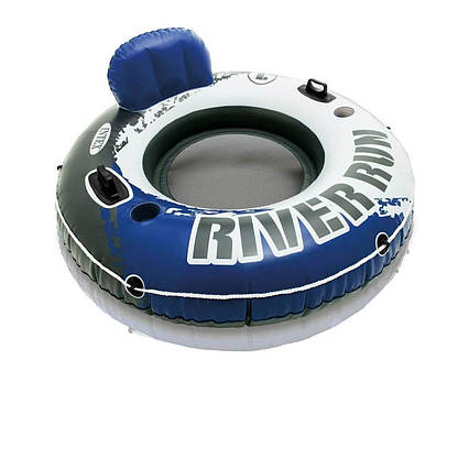 Надувне крісло River Run, серія «Sports», Intex 58825, 135 см, сині