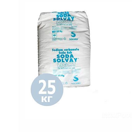 PH+ плюс для басейну Solvay 80027. Засіб для підвищення рівня рн (Бельгія) 25 кг