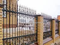 Ковані залізні паркани