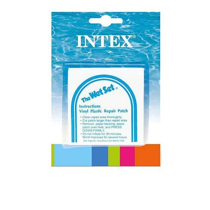 Самоклейки Intex 59631. Розмір 7 х 7 см, 6 шт