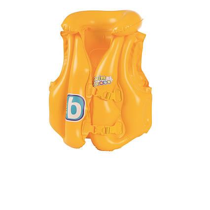 Детский надувной жилет Bestway 32034, серия «Школа плавания», 51 х 46 см