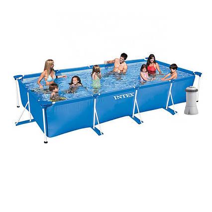 Каркасный бассейн Intex 28274, 450 х 220 х 84 см (2 006 л/ч)