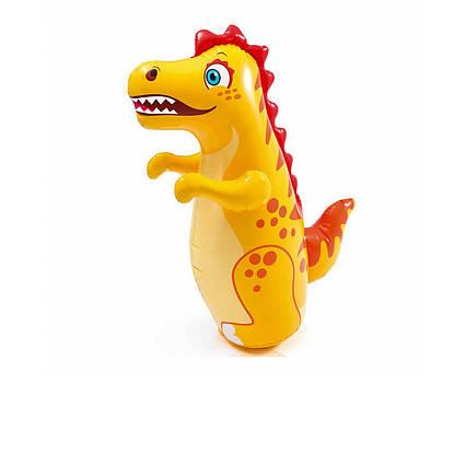 Надувна іграшка - неваляшка Intex 44669 «Динозавр», 94 х 61 см