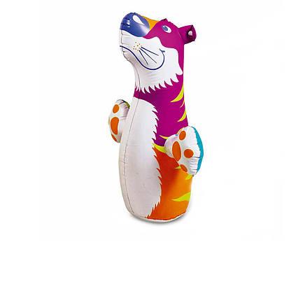 Надувна іграшка - неваляшка Intex 44669 «Тигр», 98 х 44 см