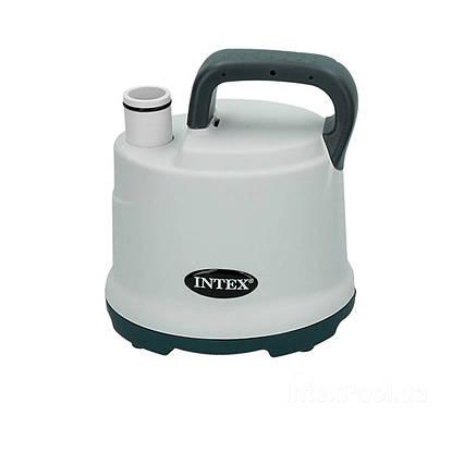 Дренажний, електричний, занурювальний насос Intex 28606, для подачі і зливу води з басейну 3 585 л/год