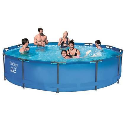 Каркасний басейн 56416 - 1, 366 х 76 см (2 підстаканники шт.)