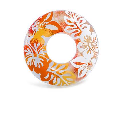 Intex надувний круг 59251 «Перламутр», 91 см, оранжевий