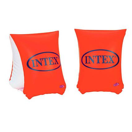 Нарукавники для плавання Intex 58642 «Люкс», серія «Школа плавання», 23 х 15 см