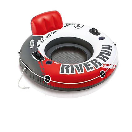 Надувний круг River Run, серія «Sports», Intex 56825, 135 см, червоне