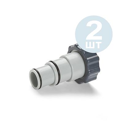 Перехідник Intex 10849-2 для адаптування шланга з 32 мм→38 мм, 2 шт