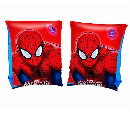 Нарукавники Bestway 98001 «Спайдер Мен, Людина-Павук», 23 х 15 см