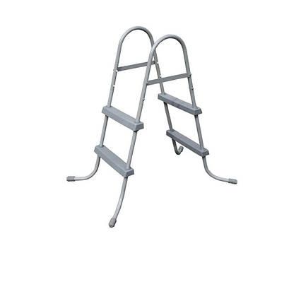 Сходи для басейну Bestway 58430 (84 см), двосекційна