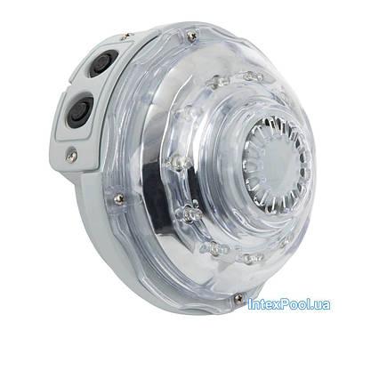 Гідроелектрична, настінна лампа Intex 28504, підсвічування для джакузі. Працює від фільтр-насоса,