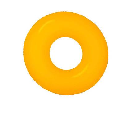 Intex надувний круг 59262 «Неон», 91 см, оранжевий