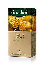 """Чай чорний HONEY LINDEN 1,5гх25шт. """"Greenfield"""" , пакет"""