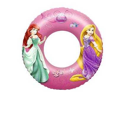 Bestway надувний круг 91043 «Принцеси», 56 см