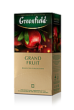 "Чай чорний GRAND FRUIT 1,5гх25шт. ""Greenfield"" , пакет"